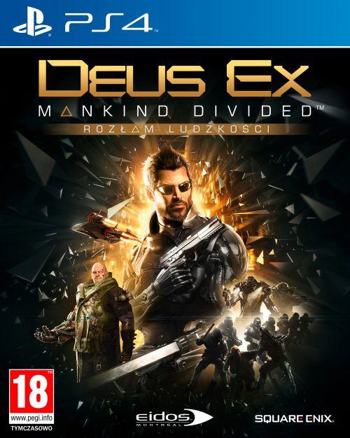 Deus Ex: Rozłam Ludzkości Edycja Kolekcjonerska (PS4) PL
