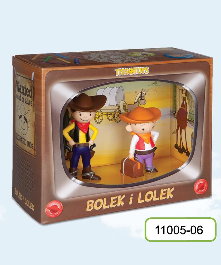 TissoToys: Bolek i Lolek - Kowboje (Zabawki)