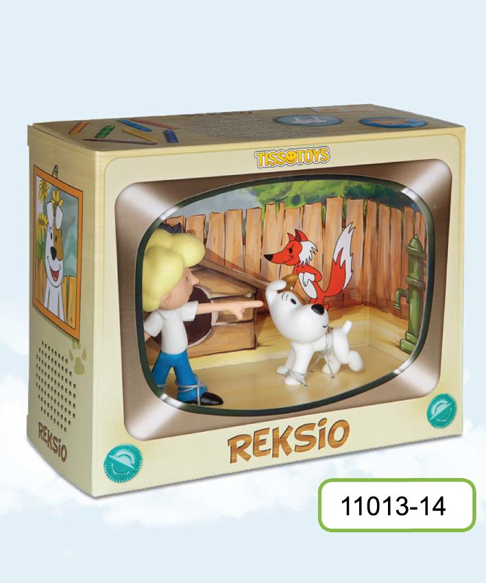 TissoToys: Reksio i chłopiec (Zabawki)