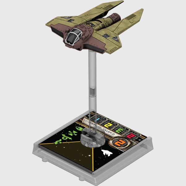 X-Wing: Zestaw Dodatkowy - M3-A Interceptor (Gra Figurkowa)