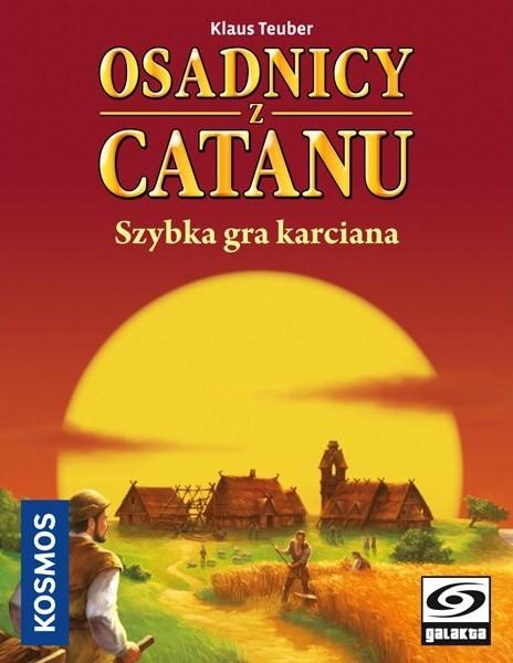 Osadnicy z Catanu - Szybka gra karciana (Gra Karciana)