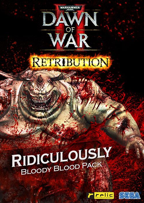 Warhammer 40,000: Dawn of War II - Retribution - Ridiculously Bloody Blood Pack (PC/MAC/LX) DIGITAL
