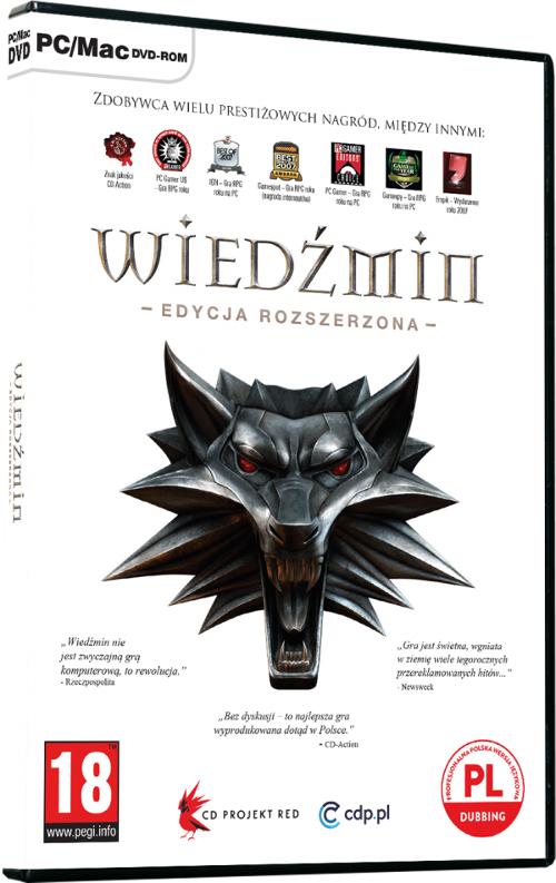 Wiedźmin: Edycja Rozszerzona (PC) PL