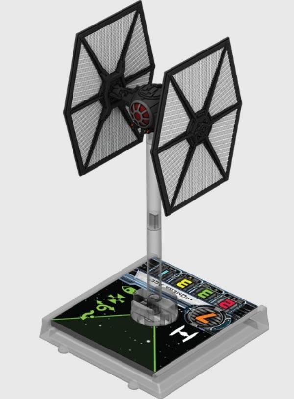 X-Wing: Zestaw Dodatkowy - Myśliwiec TIE/FO (Gra Figurkowa)