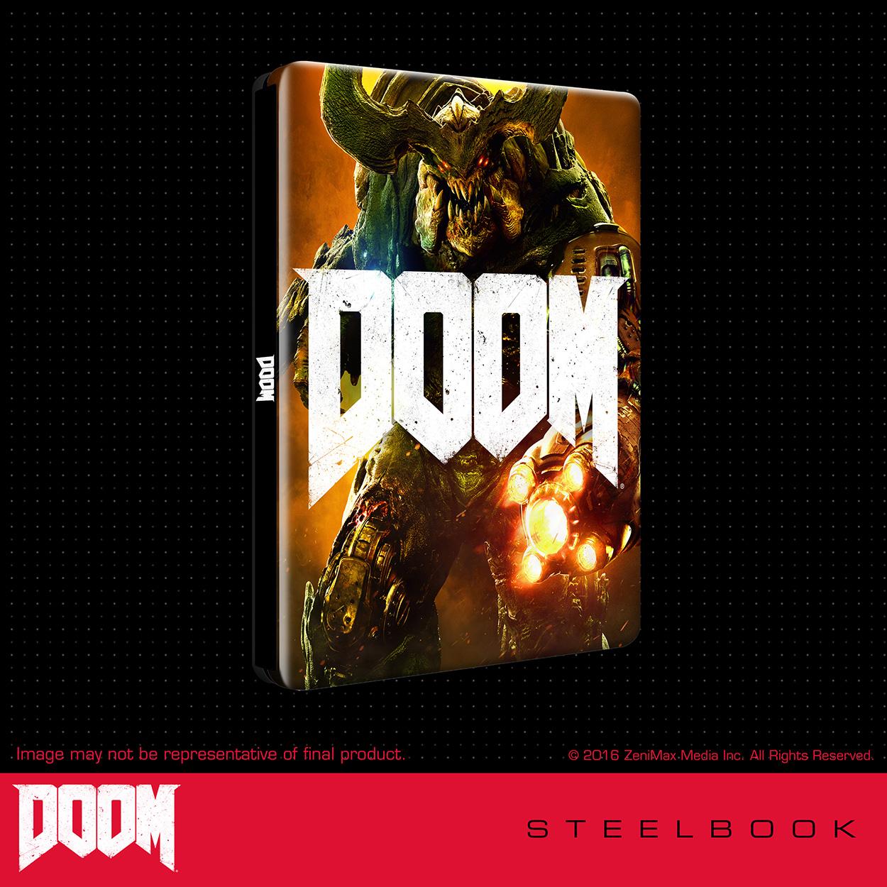 Steelbook - DOOM
