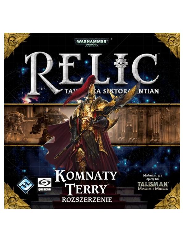 Relic: Tajemnica sektora Antian - Komnaty Terry (Gra Planszowa)