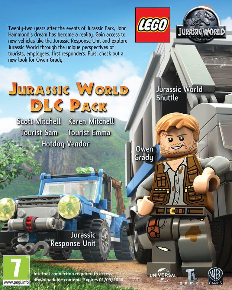 LEGO Jurassic World: Jurassic World DLC Pack (PC) DIGITÁLIS