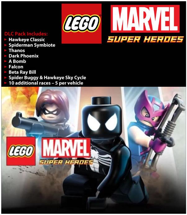 LEGO Marvel Super Heroes: Super Pack DLC (PC) DIGITÁLIS