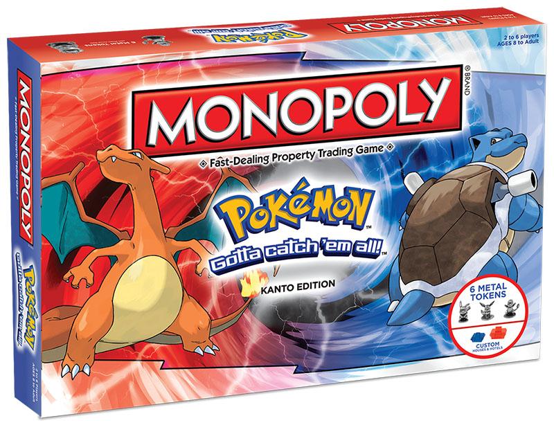 Monopoly: Pokemon Kanto Edition (Gra Planszowa)