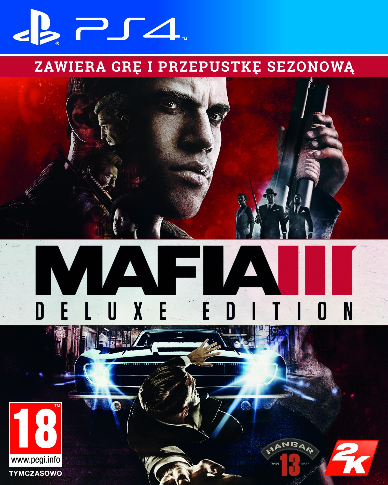 Mafia III Edycja Deluxe (PS4) PL