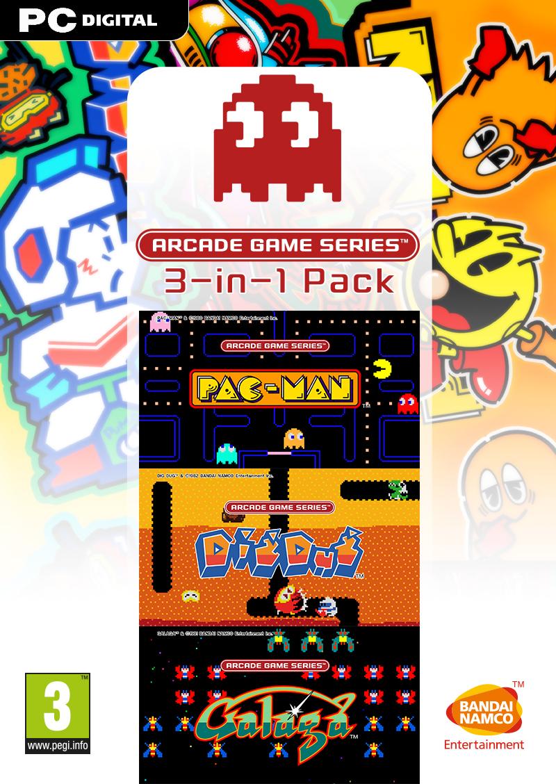 ARCADE GAME SERIES 3-in-1 Pack (PC) DIGITÁLIS