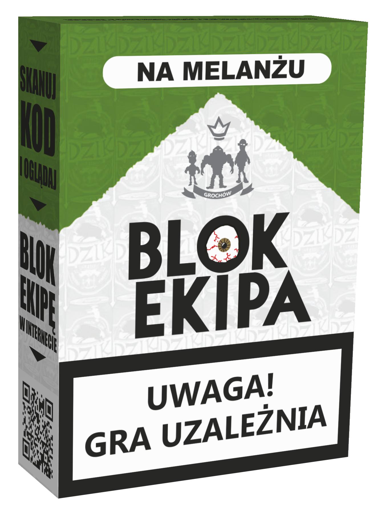 Blok Ekipa: Na Melanżu (Gra Karciana)