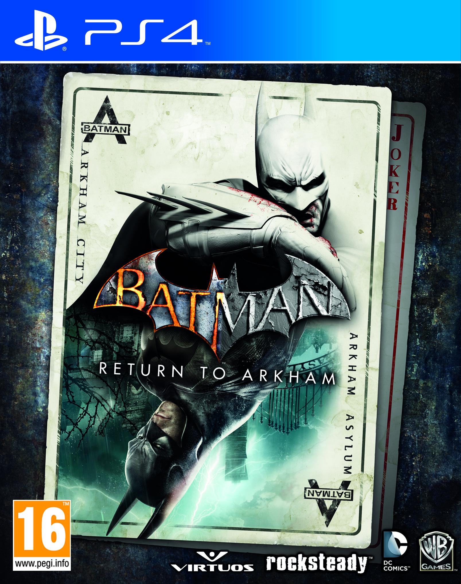 Batman: Return to Arkham (PS4) PL