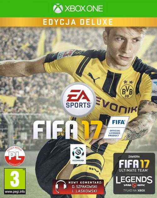 FIFA 17 Edycja Deluxe (XOne) PL