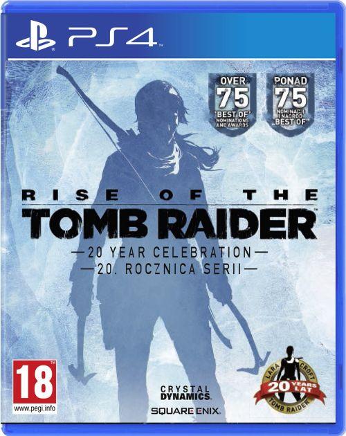 Rise of the Tomb Raider Edycja 20 Year Celebration Artbook Edition (PS4)