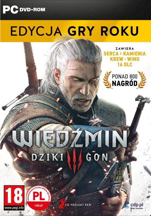 Wiedźmin III: Dziki Gon - Edycja Gry Roku (PC) PL