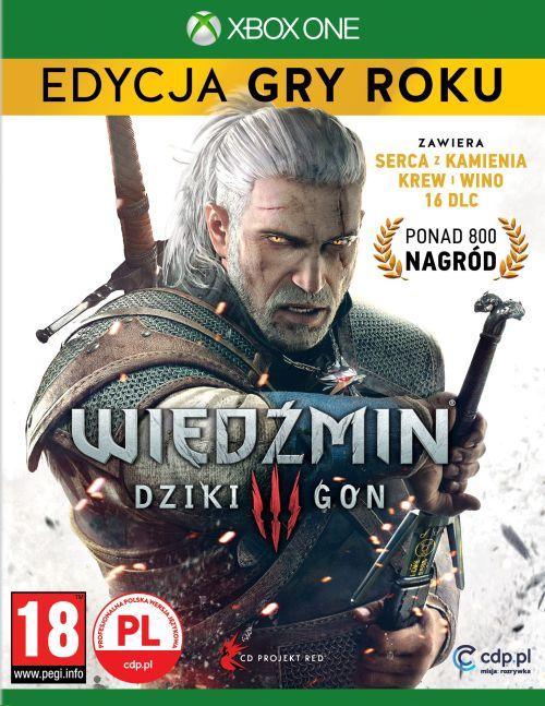 Wiedźmin III: Dziki Gon - Edycja Gry Roku (XOne) PL