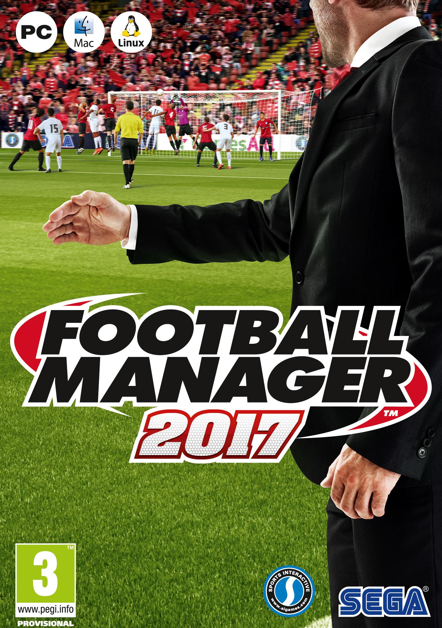 Football Manager 2017 (PC/MAC/LX) PL DIGITAL