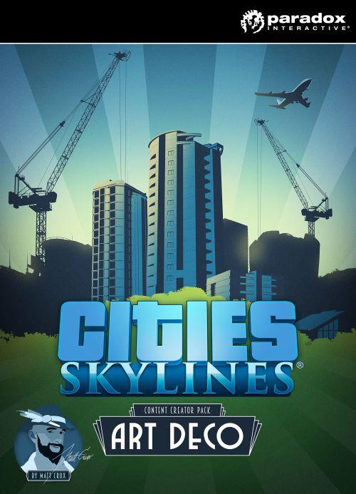 Cities: Skylines - Content Creator Pack: Art Deco (PC/MAC/LX) DIGITAL