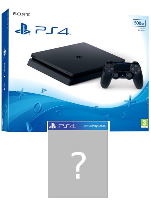 Konsola PlayStation 4 Slim 500 GB + gra-niespodzianka