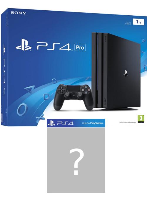 Konsola PlayStation 4 Pro 1TB + gra-niespodzianka - nowy model CUH-7216B