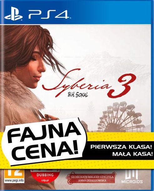 Syberia 3 - Fajna Cena (PS4) PL