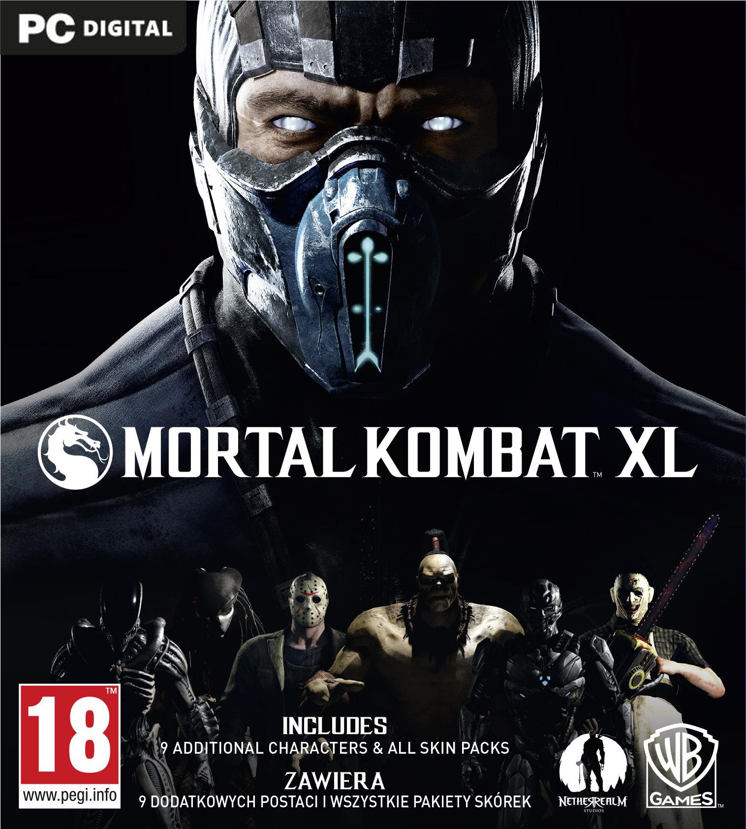 Mortal Kombat XL (PC) PL klucz Steam