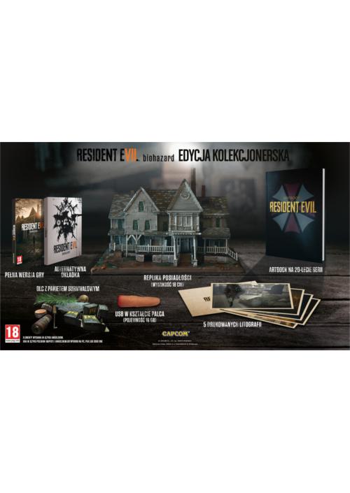 Resident Evil 7 biohazard Edycja Kolekcjonerska (PC) PL + BONUS!