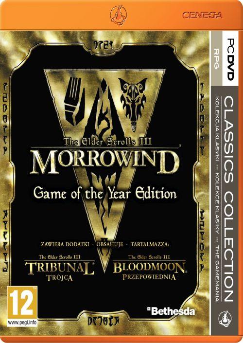 The Elder Scrolls III: Morrowind Game Of The Year PL (PC)
