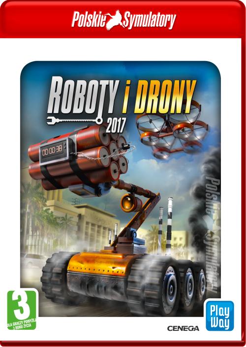 Polskie Symulatory: Roboty i drony 2017
