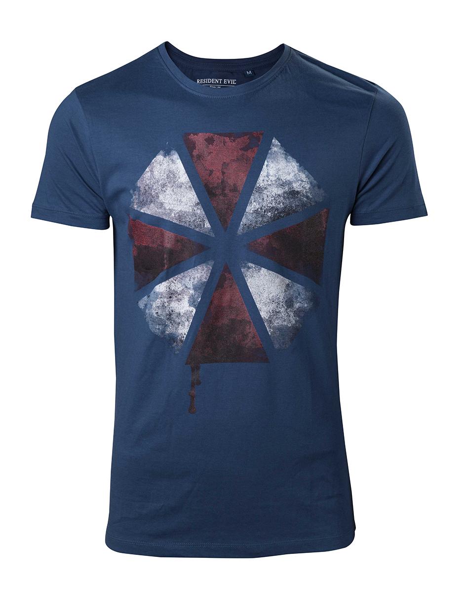 Resident Evil - Blood Dripping Umbrella Logo T-shirt - XL