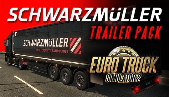 Euro Truck Simulator 2 – Schwarzmüller Trailer Pack DLC (PC) DIGITÁLIS