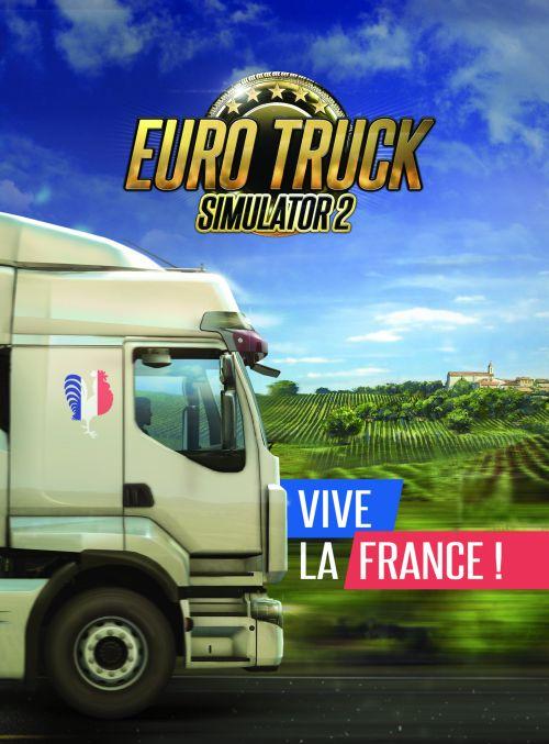 Euro Truck Simulator 2 – Vive la France! (PC) DIGITÁLIS