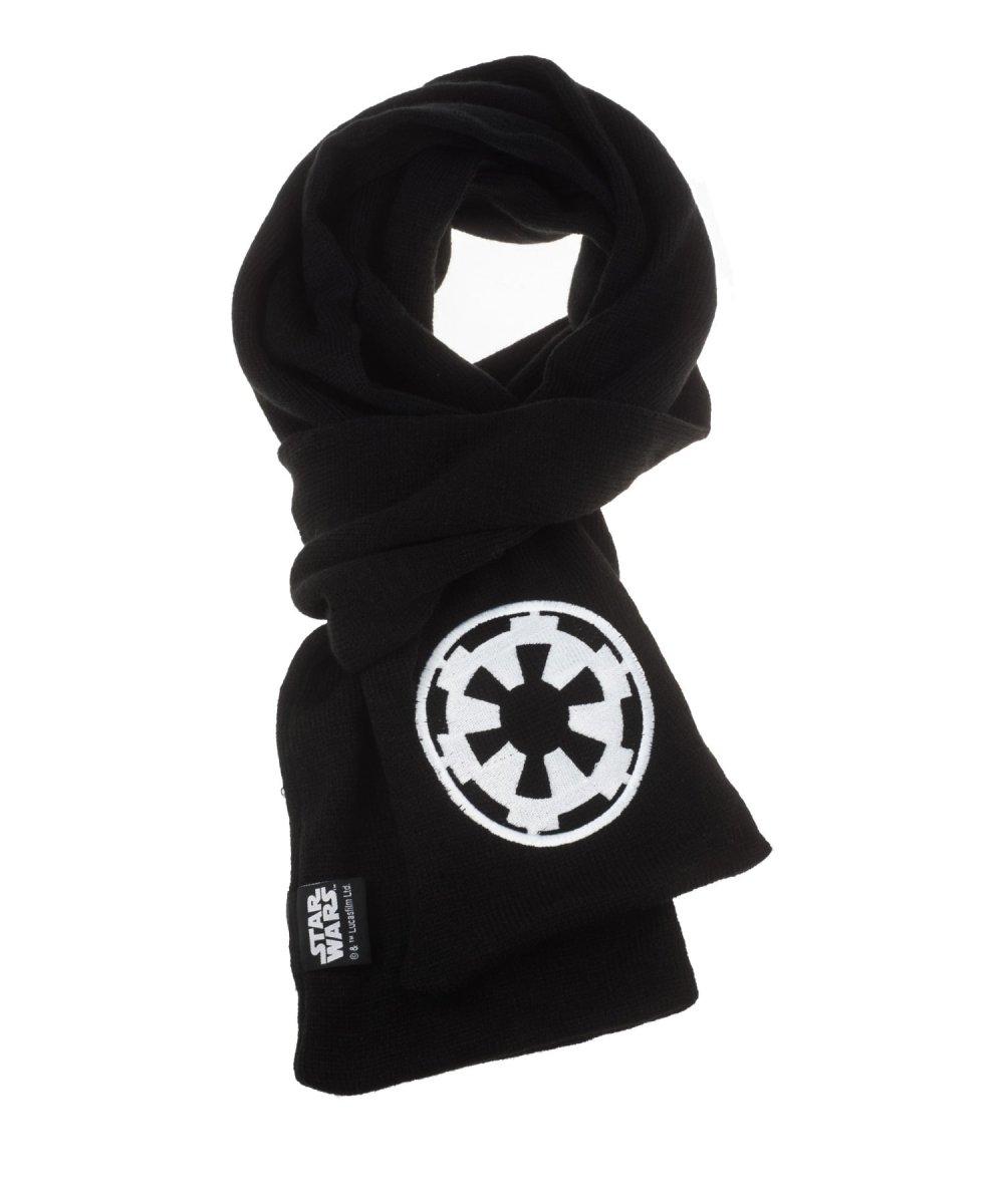 STAR WARS BLACK Szalik z emblematem Imperium + kubek Space Invaders