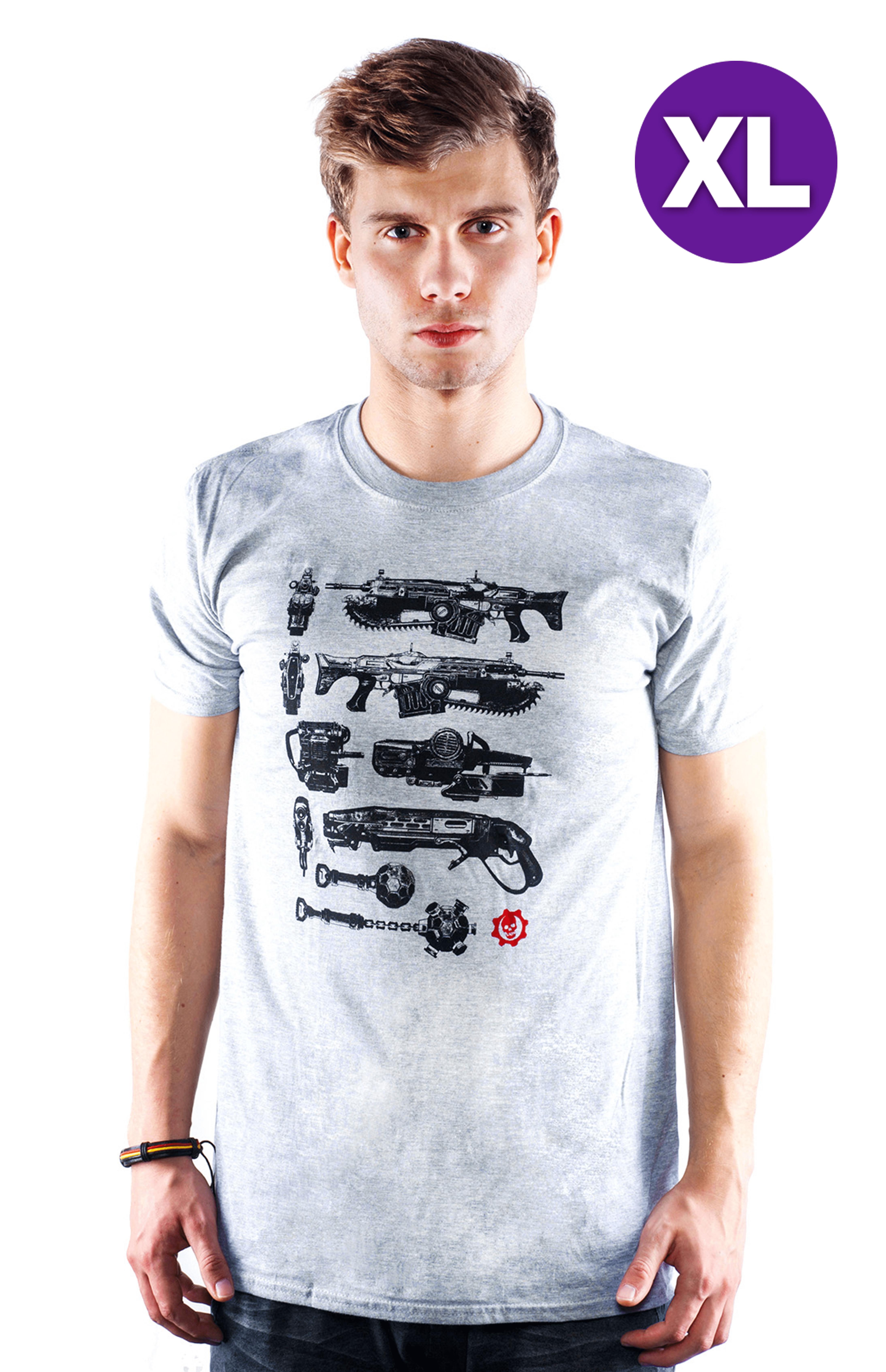 Gears of War 4 - Black Gun Tower T-Shirt XL