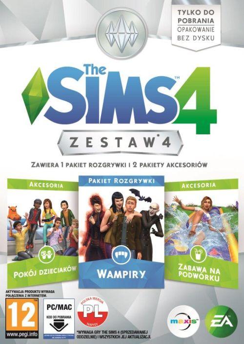 The Sims 4 Zestaw 4 (PC) PL klucz Origin