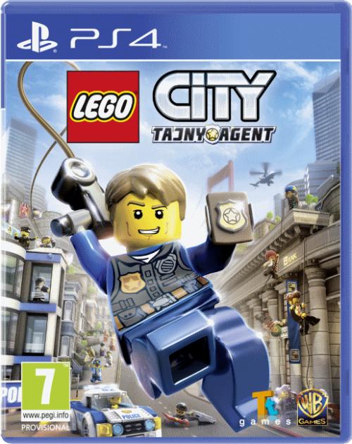 LEGO City: Tajny Agent (PS4) PL