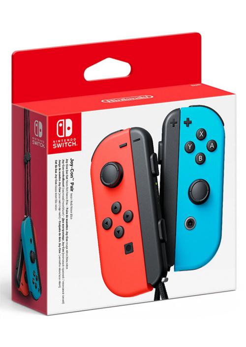 Komplet kontrolerów Joy-Con - kolor czerwono-niebieski (Switch)