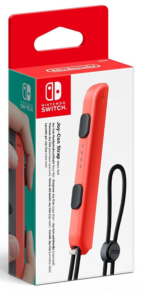 Pasek do kontrolera Joy-Con - kolor czerwony (Switch)