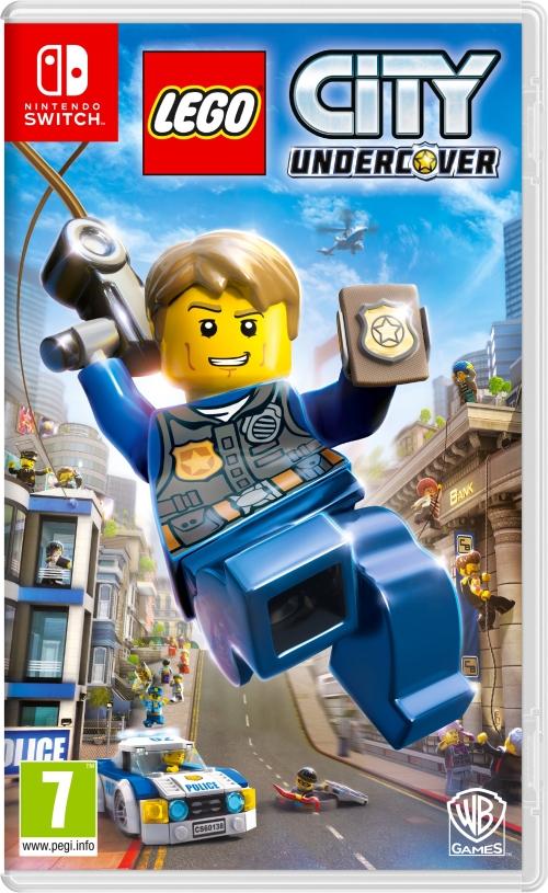 LEGO City: Tajny Agent (Switch) PL