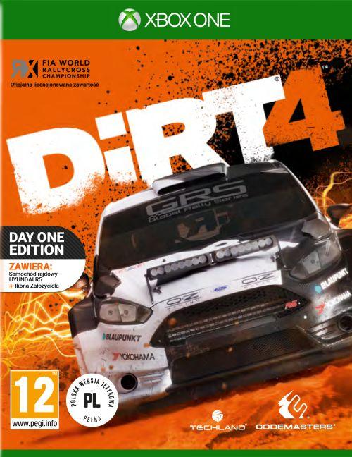 DiRT 4  - Edycja Day One Edition (XOne) + NASZYWKA!