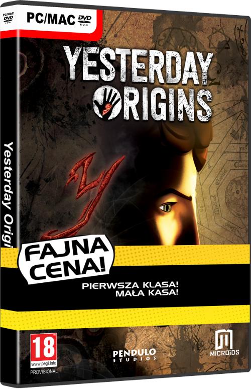 Yesterday Origins - Fajna Cena (PC) PL