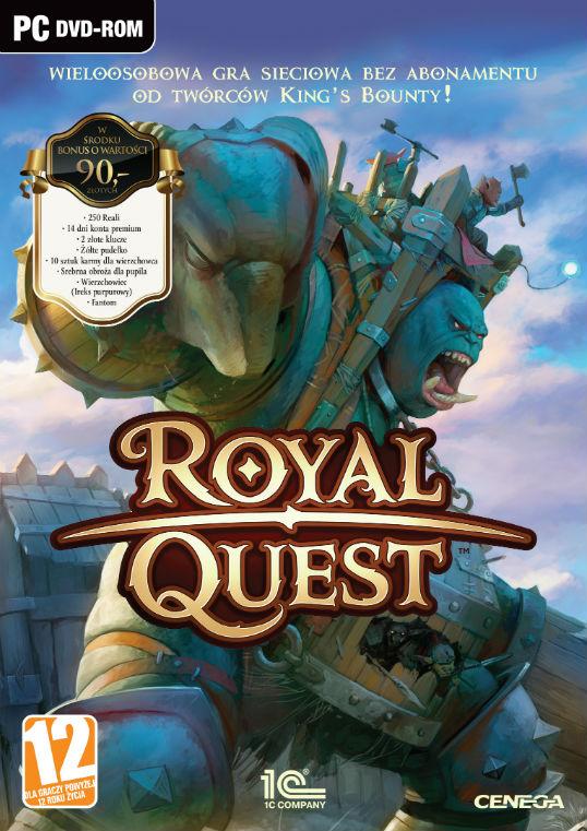 BDR Royal Quest - Pakiet startowy (PC) PL