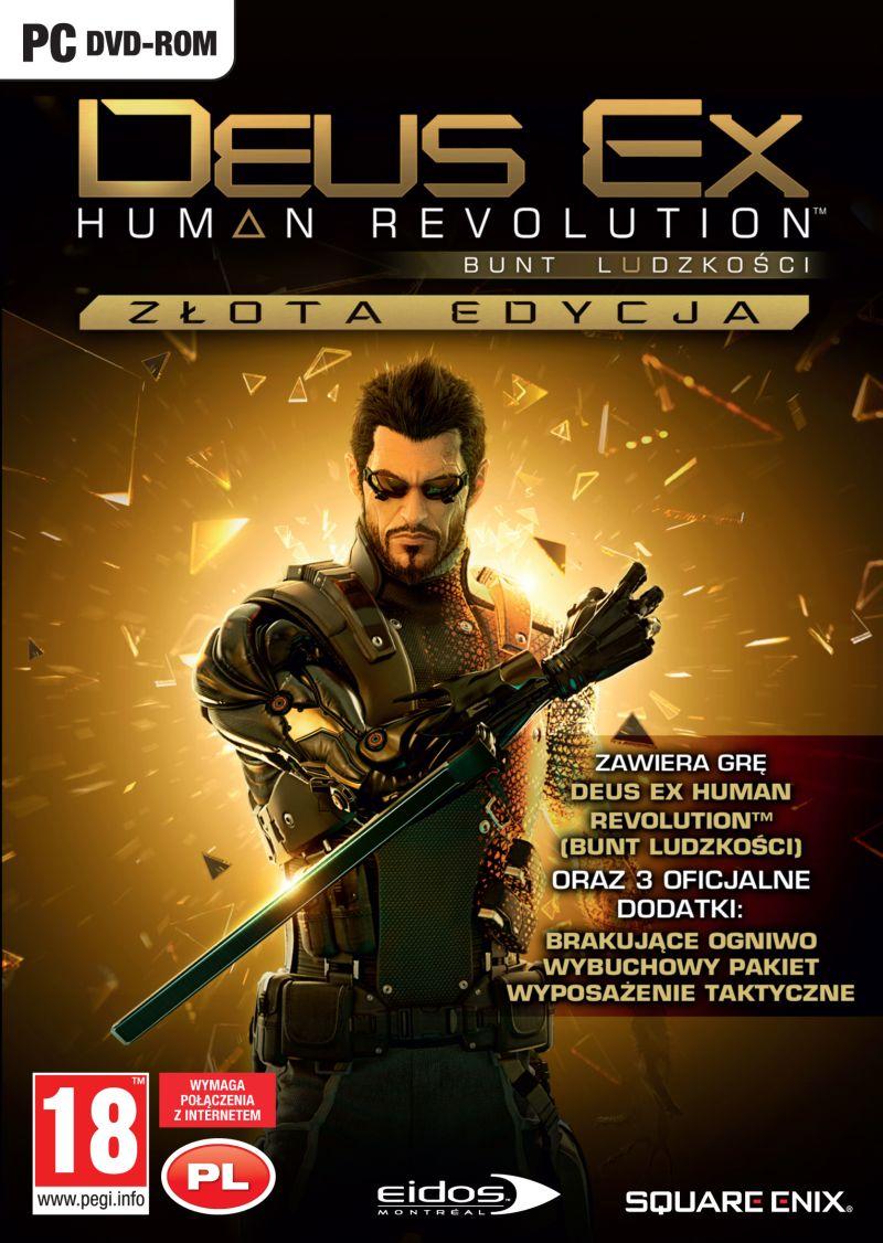 Deus Ex: Bunt Ludzkośc Złota Edycja (PC) PL