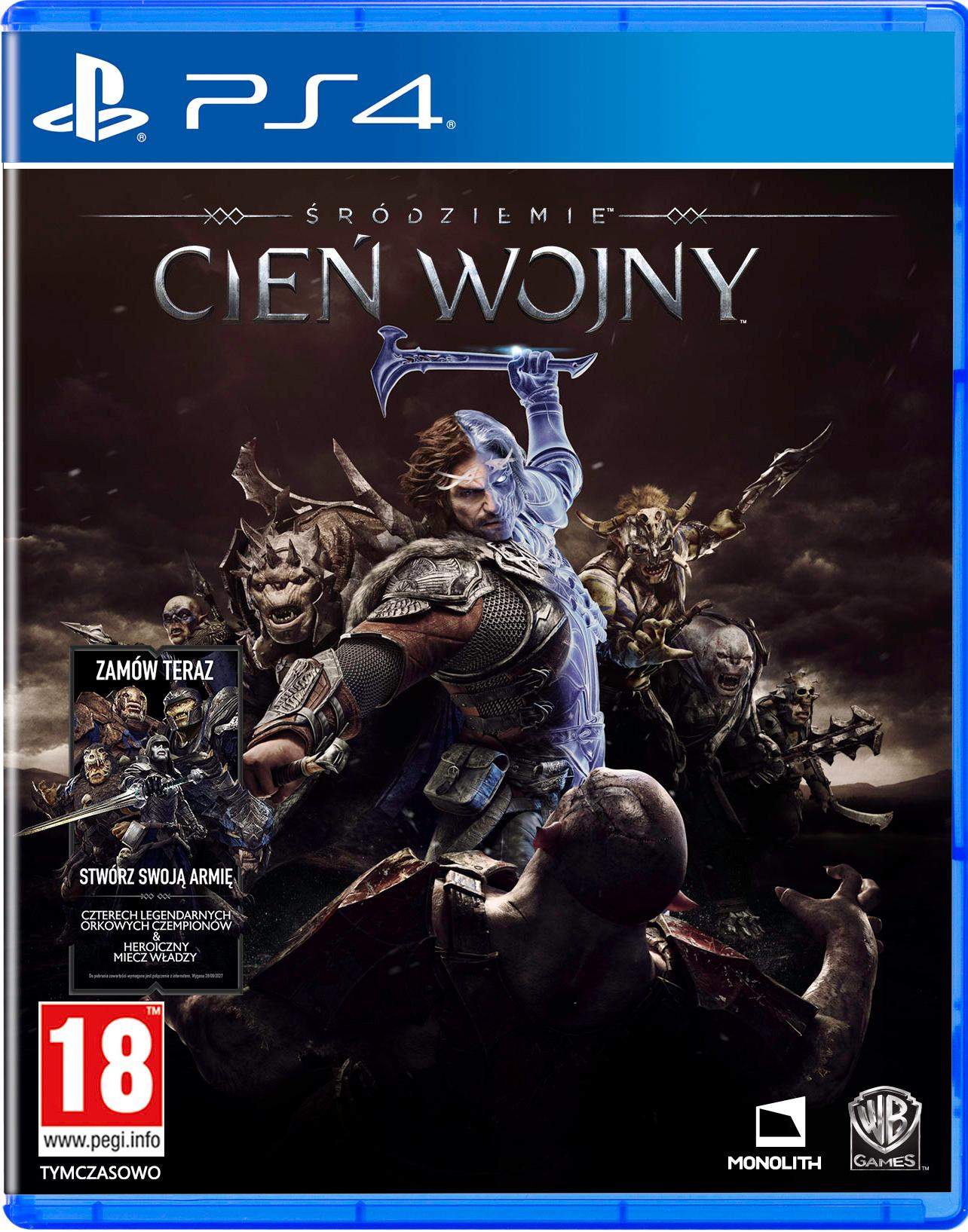 Śródziemie: Cień Wojny (PS4)