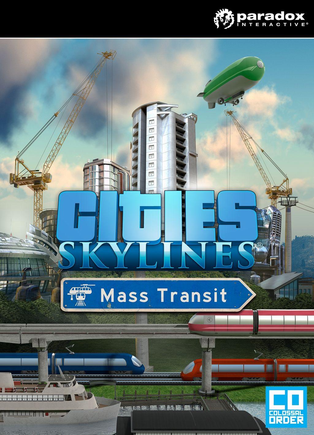 Cities: Skylines - Mass Transit (PC/MAC/LX) DIGITÁLIS
