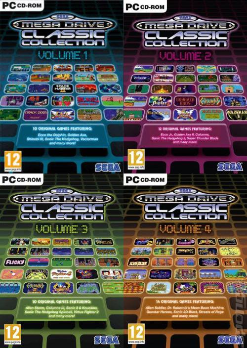 SEGA Mega Drive and Genesis Collection (PC) DIGITAL