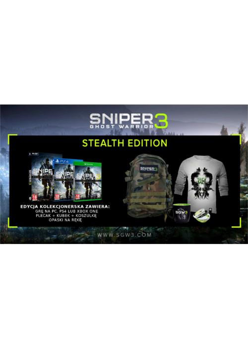 Sniper Ghost Warrior 3 Edycja Stealth Edition (PC) PL + BONUS!