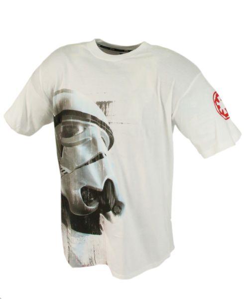 Star Wars koszulka Szturmowca biała - M