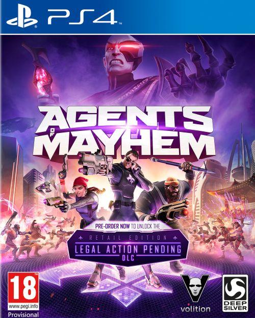 Agents of Mayhem Edycja Day One Edition (PS4) PL